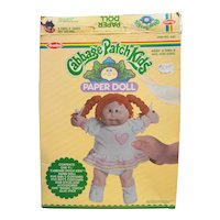 NOS Vintage 1983 Cabbage Patch Kids Paper Doll Set By Avalon Item #640