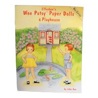 Effanbee's Wee Patsy Paper Dolls & Playhouse John Axe New Condition