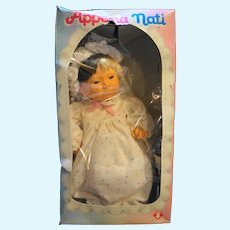 Furga Appena Nati Just Born Asian Girl Doll Anatomically Correct 1980s