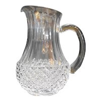 Cristal d'Arques Longchamp 40 Oz  Pitcher Lead Crystal