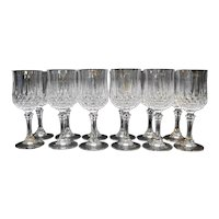 Cristal d'Arques Longchamp Wine Glasses Set of 12