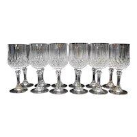 Cristal d'Arques Longchamp Wine Glasses Set of 12