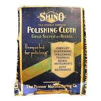 Shino Polishing Cloths in Box Vintage