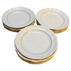 Pfaltzgraff Heirloom Salad Plates Used Set of 13
