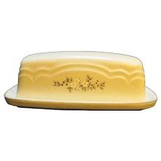 Pfaltzgraff Heirloom 1/4 Lb Covered Butter Dish