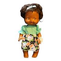 Mattel 1975 Happy Birthday Tender Love African American Black Baby Doll