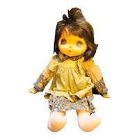 Sekiguchi Maudie May Thumb Sucking Doll Anime 1970s Original Brown Outfit