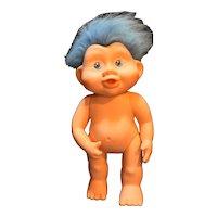 Applause Magic Trolls Troll Babies Baby Doll Blue Hair 1991 Vintage