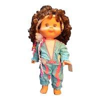 Honeycomb Panosh Place Vintage 1985 Doll Brunette Original Outfit No Shoes