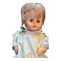 "Ginny Baby Vogue Doll Vintage Blond Hair Sleep Eyes Drink Wet 15"""