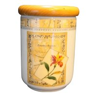 Royal Worcester Country Garden Small Canister