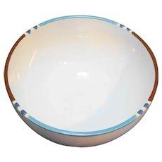 "Dansk White Mesa Japan Mixing Bowl 8"""