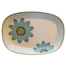 Noritake Up Sa Daisy Oval Platter 13 IN