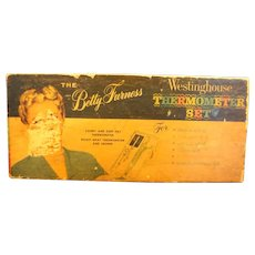 Betty Furness Westinghouse Thermometer Set Candy Roast Meat