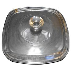 Pyrex Clear A7C Square Lid