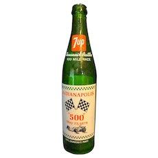 Indy 500 7up Souvenir Bottle 1979