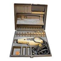Sears Li'l Crafty Rotary Electric Tool Kit Vintage