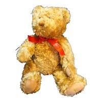 "Hallmark Gold Crown Teddy-Tennial 12"" Jointed Bear"