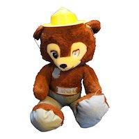 Smokey the Bear Plush Knickerbocker Hat Belt Badge