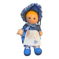 Blue Bonnet Sue Cloth Doll Advertising