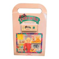 Pamela the Living Doll Worlds of Wonder Voice Cards Stickers Books Set