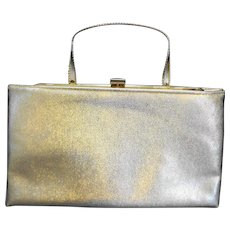 Ande Gold Convertible Clutch Purse