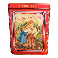 Neilson's Crispy Crunch Chocolate Tin 100th Anniversary 1993