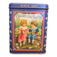 Neilson's Jersey Milk Chocolate Tin 100th Anniversary 1993