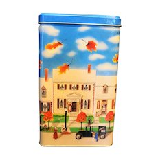 Hershey's Hometown Series Canister # 6 Toy Shop 1990 Tin