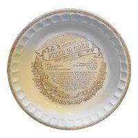 Royal China Pizza Di Casa Deep Dish Pie Plate
