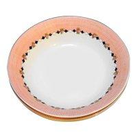 Garden Time Mary Engelbreit Sakura Soup Bowls Set of 3