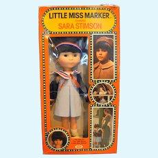1980 Ideal Toys Little Miss Marker Sara Stimson Doll