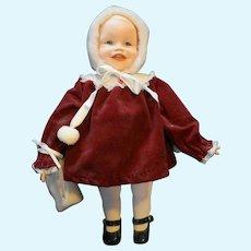 Yolanda Bello Picture Perfect Babies Jennifer Red Velvet Porcelain Doll