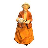Retired Royal Doulton Golden Years Teatime HN2255 Figurine Mary Nicoll 1966