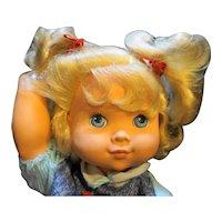 1991 Hasbro Baby Wanna Walk Blond Blue Eyes