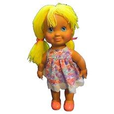 Pretty Cut and Grow Doll 1990 Playskool