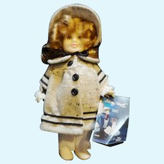 """Shirley Temple Ideal Doll 1983 8"""" Dimple Collector Series"""