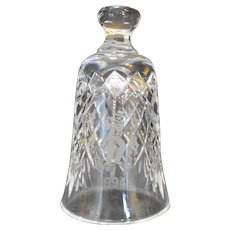 Waterford Crystal 12 Days of Christmas Bell 11 Pipers Piping 1994