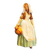 """Royal Doulton The Milkmaid Figurine HN2057 6 1/2"""" Vintage"""