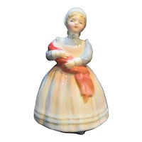 "Royal Doulton The Rag Doll Figurine HN2142 4 3/4"" Vintage"