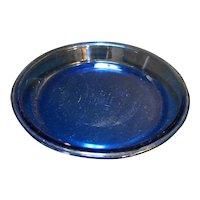 "Anchor Hocking Presence Cobalt Blue Pie Plate Bakeware 9"""