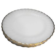 Anchor Hocking Golden Shell Dinner Plates Set of 5