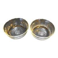 Pyrex 464 300ml Ramekins Custards Clear Glass Scalloped Rim