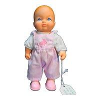"Galoob LGTI Walking Bouncing Baby Doll No Walker 1988 6 1/2"""