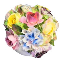 Royal Adderley Floral Bone China Bouquet Porcelain Pot