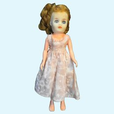 "Vintage 1950s Vinyl Plastic Doll Made in Japan 10"""