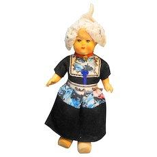 "Dutch Girl Composition Doll Authentic Clothes 8"""