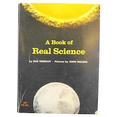 A Book of Real Science by Mae Freeman 1966 Paperback