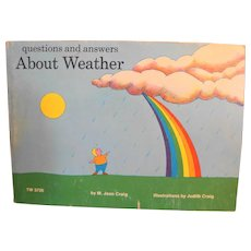Questions and Answers About Weather by M. Jean Craig 1973