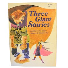Three Giant Stories by Lesley Conger Paperback 1973
